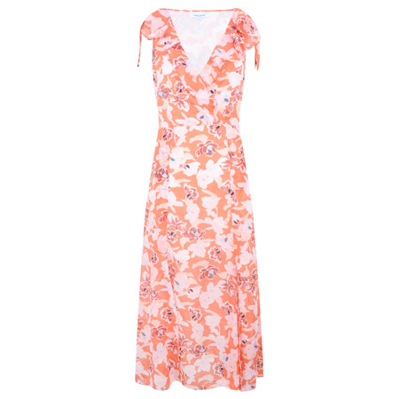 Great Plains Tulum Floral Maxi Dress - Red
