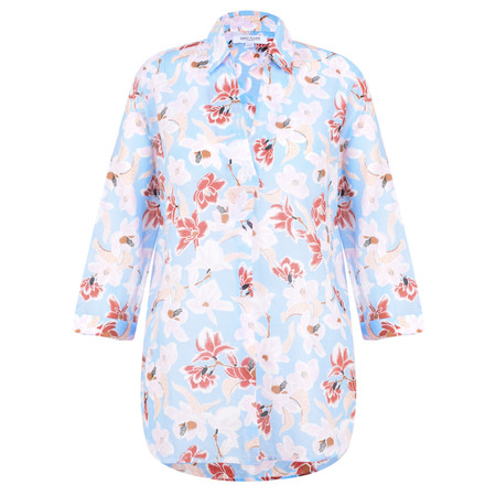 Great Plains Tulum Floral Shirt - Blue