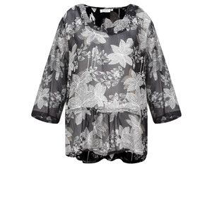 Masai Clothing Damiti Lace Floral Top