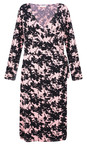 Masai Clothing Rosetan Neba Floral Wrap Dress