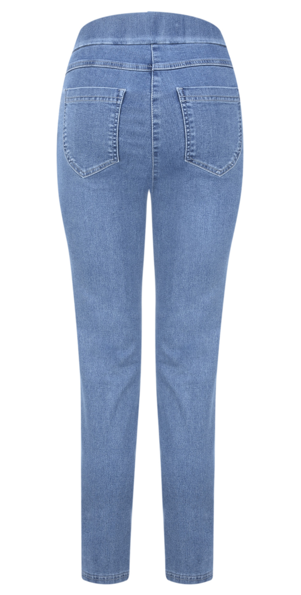 Nena 09 Ankle Zip Cropped Powerstretch Jeans main image
