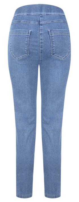 Robell  Nena 09 Ankle Zip Cropped Powerstretch Jeans Light Denim 62