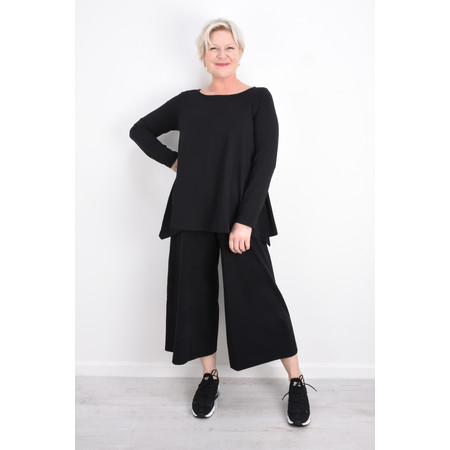 Mama B Pampa Izmir Plain Trouser - Black