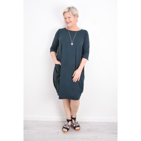 Mama B Golfo Izmir Plain Dress - Blue