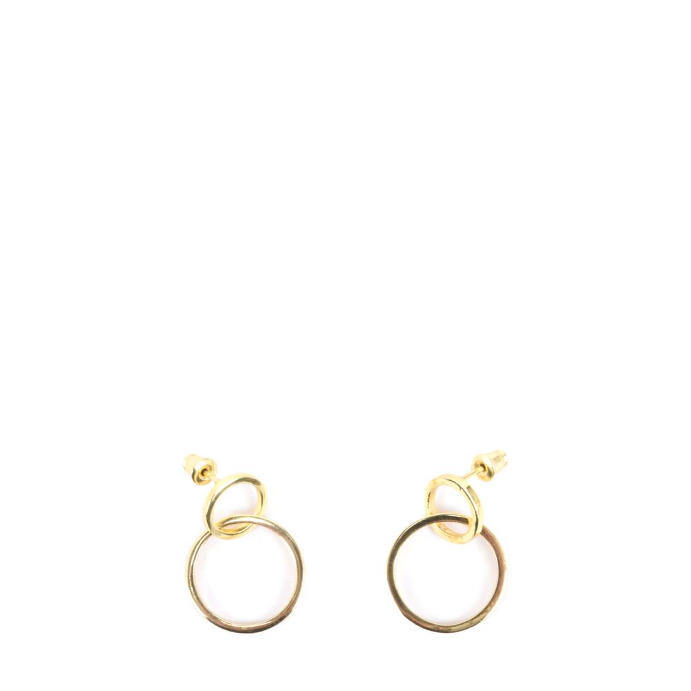 Tutti&Co Orbit Earrings  Gold