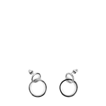 Tutti&Co Orbit Earrings  - Metallic