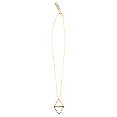 Tutti&Co Ravine Necklace  - Gold