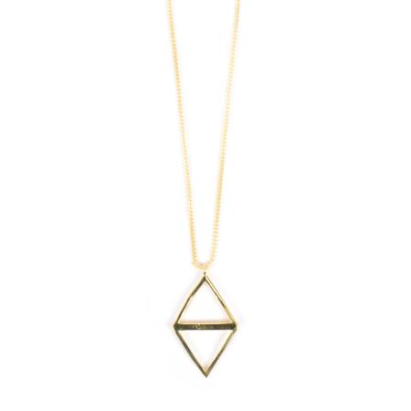 Tutti&Co Ravine Necklace  - Gold