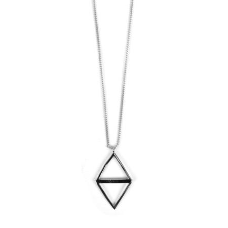 Tutti&Co Ravine Necklace  - Metallic