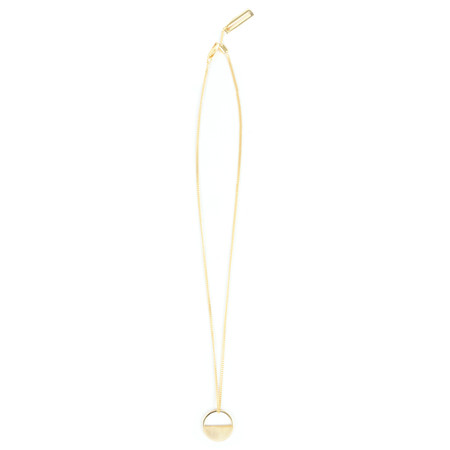 Tutti&Co Eclipse Necklace  - Gold