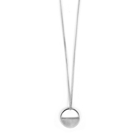 Tutti&Co Eclipse Necklace  - Metallic