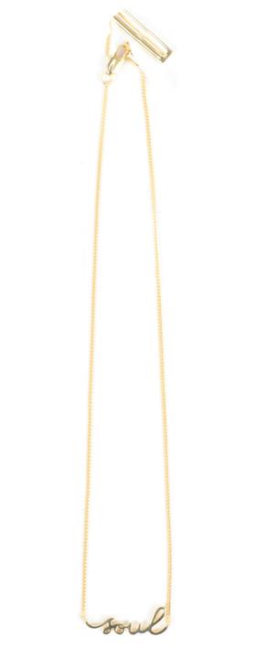 Tutti&Co Soul Necklace Gold
