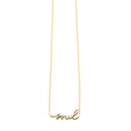 Tutti&Co Soul Necklace - Gold
