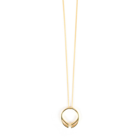 Tutti&Co Channel Necklace  - Gold