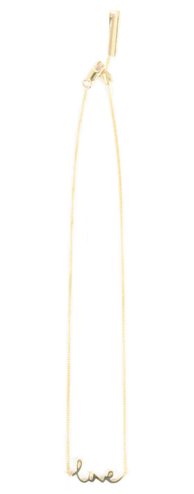 Tutti&Co Live Necklace Gold