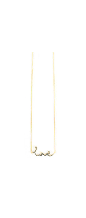 Tutti&Co Live Necklace Gold
