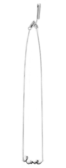Tutti&Co Live Necklace Silver
