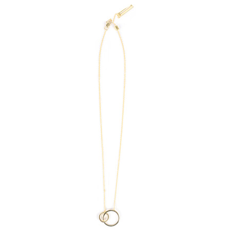 Tutti&Co Orbit Necklace - Gold