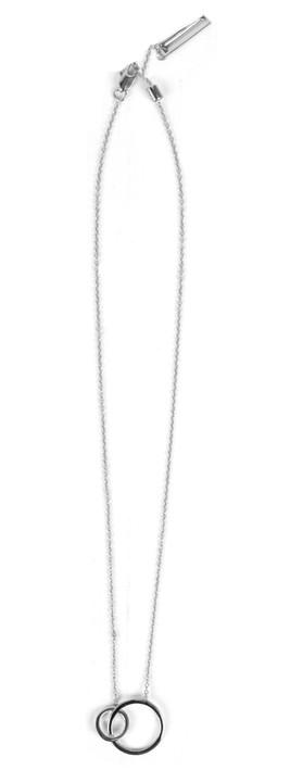 Tutti&Co Orbit Necklace Silver