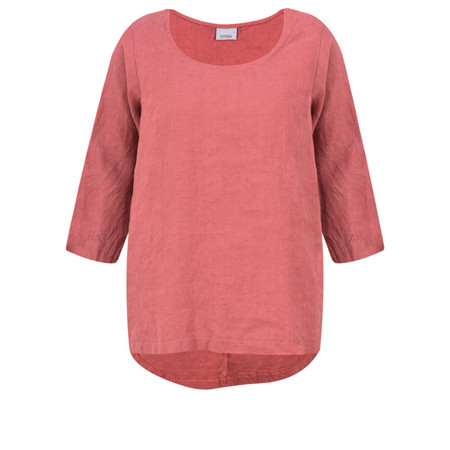 Thing Linen Easy Fit Top - Pink