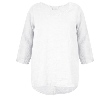 Thing Linen Easy Fit Top - White
