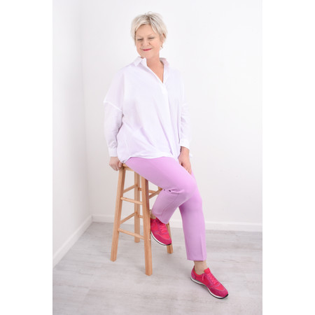 French Connection Sundae Suiting Trousers - Pink
