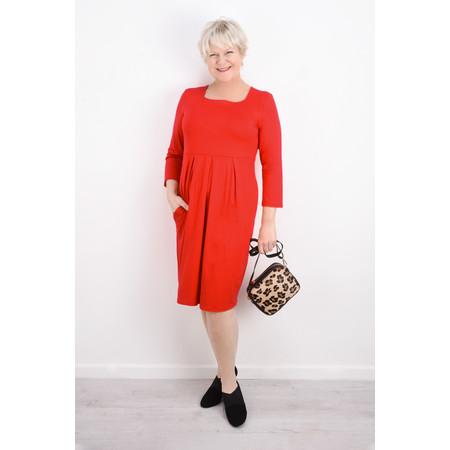 Masai Clothing Hope Tunic Dress - Red