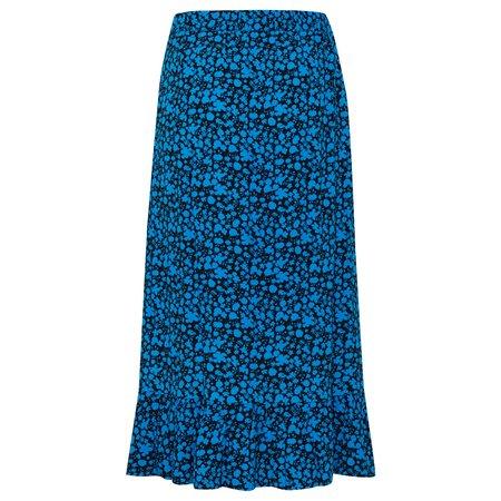 ICHI Clue Skirt - Black
