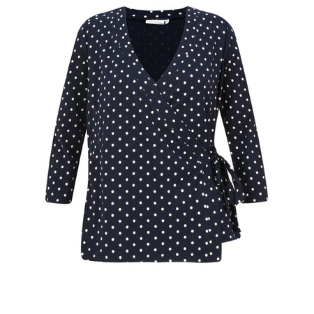 Masai Clothing Debora Spot Top - Blue