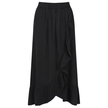 ICHI Clue Skirt - Black