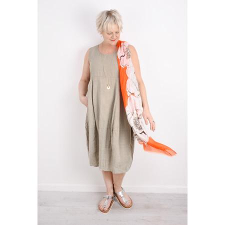 Butterfly Hudie Fiona Floral Print Scarf - Orange