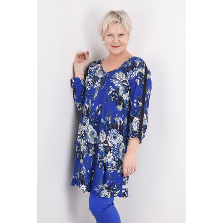 Masai Clothing Floral Gaynor Tunic - Blue
