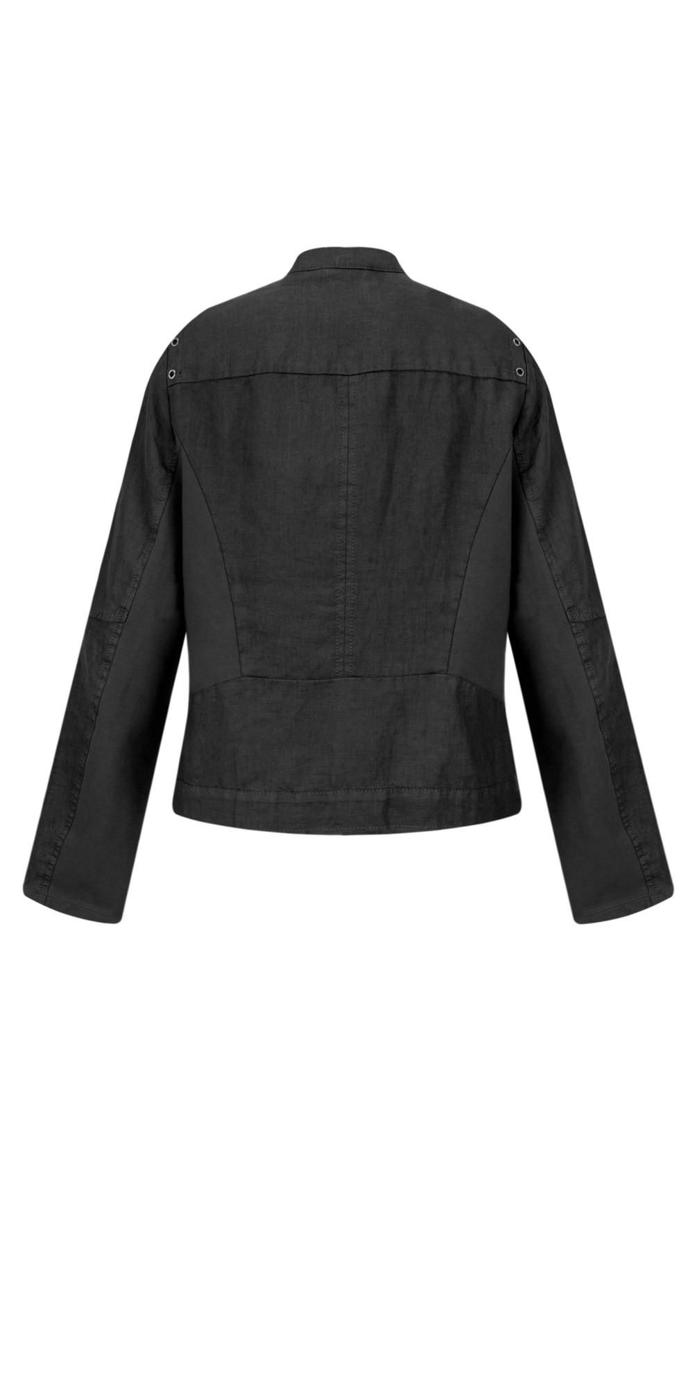 Linen Biker Jacket main image