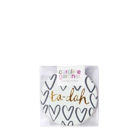 Caroline Gardner Ta-dah Pocket Compact Mirror - Multicoloured
