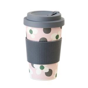 Caroline Gardner Floral Spot Bamboo Reusable Coffee Cup