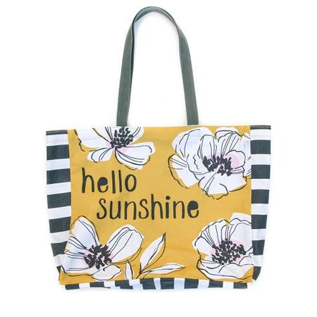 Caroline Gardner Hello Sunshine Tote Bag - Yellow