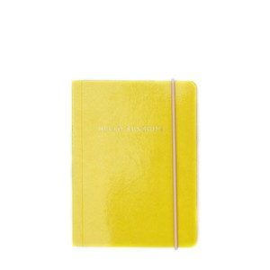 Caroline Gardner Yellow Patent Small Notebook