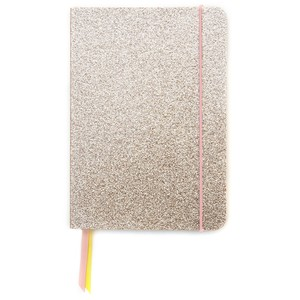 Caroline Gardner Gold Glitter A5 Notebook