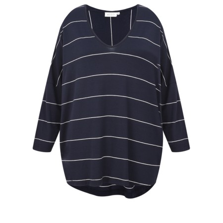 Masai Clothing Delice Stripe Top - Blue