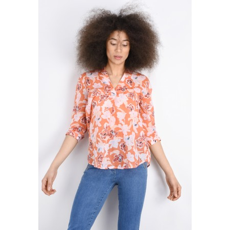 Great Plains Tulum Floral Shirt - Red