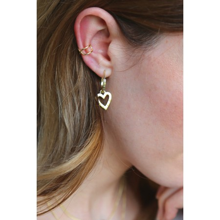Tutti&Co Angelic Earrings - Gold