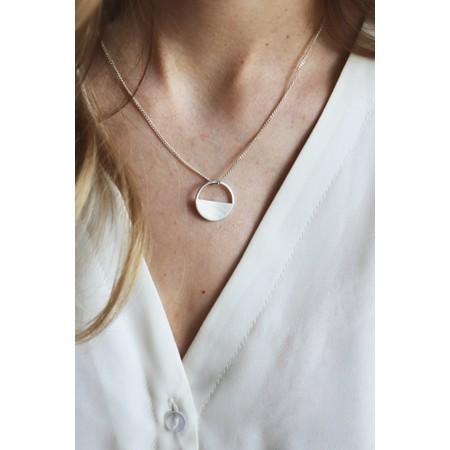 Tutti&Co Eclipse Necklace  - Metallic