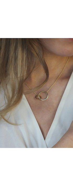 Tutti&Co Orbit Necklace Gold