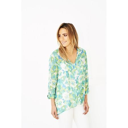 Adini Celeste Print Sienna Tunic - Green