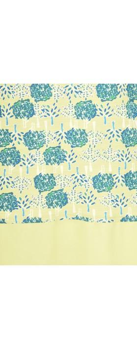 Adini Double Tree Print Neve Top Citron