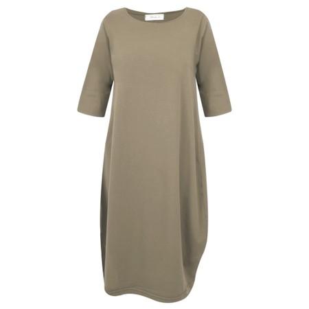 Mama B Golfo Izmir Plain Dress - Green