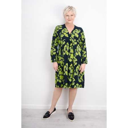 Masai Clothing Floral Print Nabala Dress - Green
