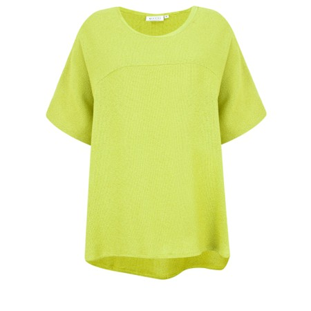 Masai Clothing Daly Boucle Top - Green