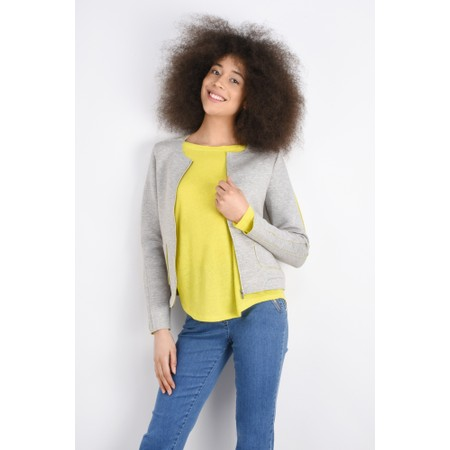 Sandwich Clothing Linen Mix Long Sleeve Top - Yellow