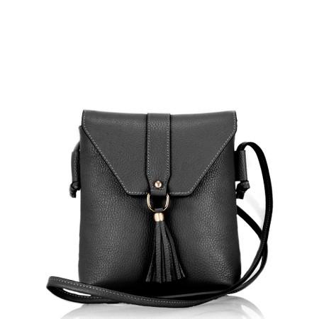 Gemini Label  Fano Handbag - Black
